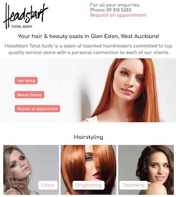 Headstart new website by Buzz