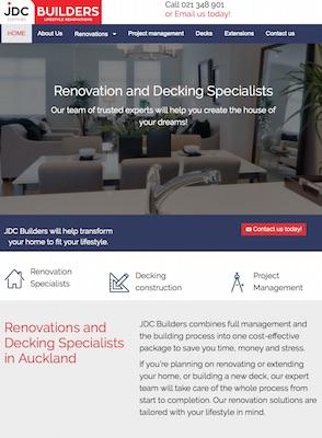 JDC new website by Buzz