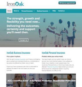 IronOak new website build by Buzz Marketing